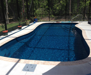 Tallahassee Pools Florida | Beautiful fiberglass pool design and ...